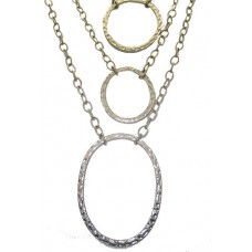 Chico Necklace Stunning rhinestone metal chain