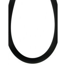 Black Rubber Double wholesale Necklace