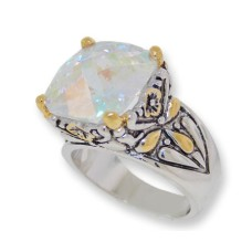 Designer Cable Jewelry Ring AB