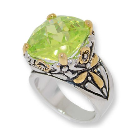 Designer Cable Jewelry Wholesale Ring Peridot