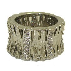 White Gold Fashion Designer wholesale Ring at low price