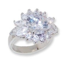 White CZ Wholesale ring