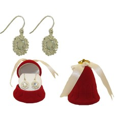 SNOW FLAKE EARRING in GIFT BOX