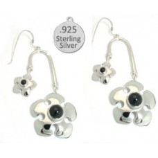Black Onyx Stone Wholesale Earrings 925 Sterling Silver