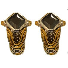 Jet Black Wholesale Designer Simulated Diamond Earring