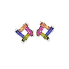 Multi Geometric Necklace