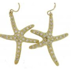 Starfish Earring Swarovski Crystal