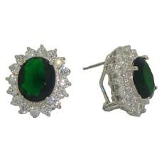 Princess Kate & Princess Diana Wholesale Earrings Emearld