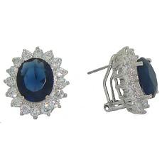 Princess Kate & Princess Diana Earrings Sapphire