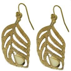 Golden Leaft Earring