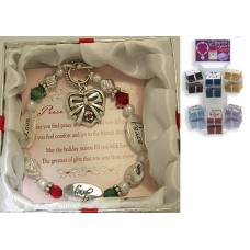 Red Holiday Expressively Yours Bracelet gift boxed