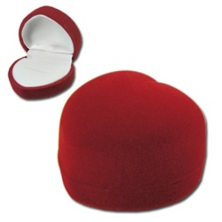 Domed Heart Ring or Earring Box