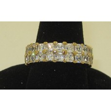 Celebrity Eternity Ring in yellow gold in Many Sizes