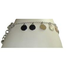 Pamela Anderson Circle Bracelet reversible designer pouch