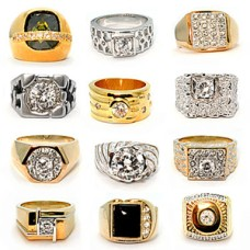 Mens Wholesale Ring Closeout 36 Rings