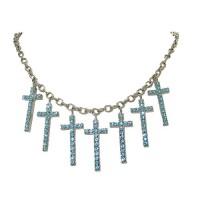 Cross Charm Necklace wholesale, Paris