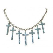 Cross Charm Necklace wholesale, Paris