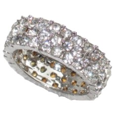 Triple Eternity wholesale Band Ring