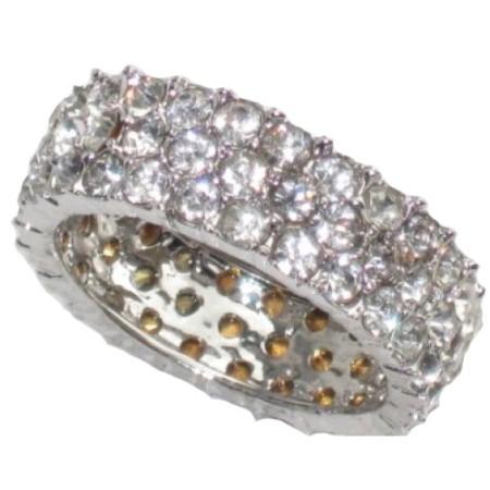 Triple Eternity wholesale Band Ring