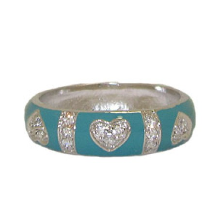 Turquoise Hidalgo Style Ring