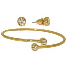 Bracelet & Earring Sets Elegant Bracelet Crstal