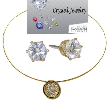 CZ Designer Wholesale Necklace Earring Set