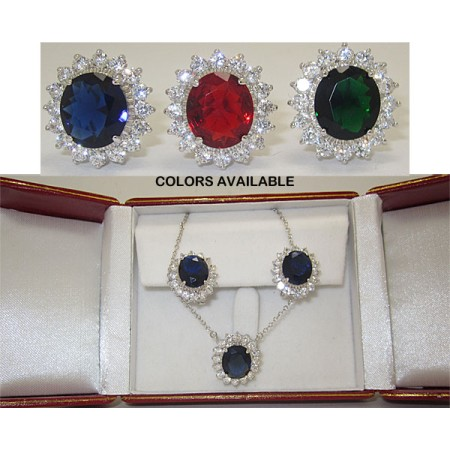 Princess Kate 2 Pcs Boxed Set Sapphire