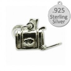 925 Sterling Silver Mail Box Wholesale Charm