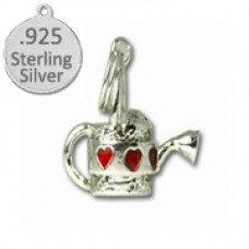 925 Sterling Silver Watering Can Charm