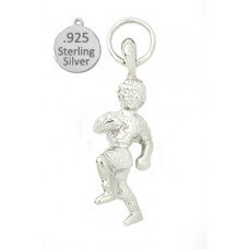 Sterling Silver Runner Charm