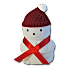 Snowman Ring Pendant Earring Box