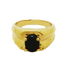 Men's wholesale High Quality Genuine Onyx Stone Rings