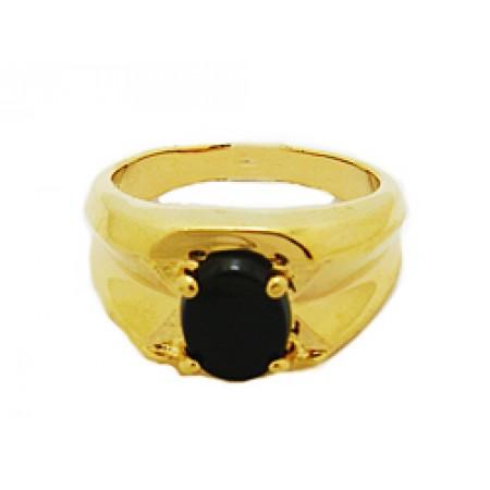 Men's wholesale High Quality Genuine Onyx Stone Rings
