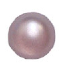 50 Dome 22mm Cabochon Lavender Pearl Flat Back wholesale stone
