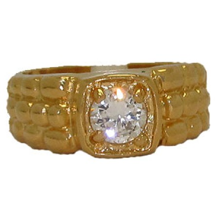 Quality Cubic Zirconia Wholesale Rings Mens Ring